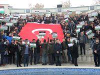 Konya'da Stk'lardan Kudüs Protestosu