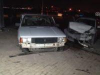 İki Otomobil Kavşakta Çarpıştı: 8 Yaralı