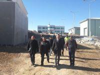 İbrala Barajı İçmesuyu Arıtma Tesisi'nde İnceleme