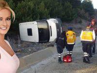 Müge Anlı'nın ekibi kaza geçirdi!
