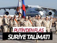Putin'den Suriye'deki Rus üslerine ilişkin açıklama