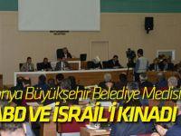 Konya Büyükşehir Belediye Meclisi ABD ve İsrail'i kınadı