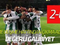 Atiker Konyaspor 4 maç sonra kazandı