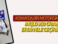 Konya'da 8 Kilo 250 Gram Eroin Ele Geçirildi
