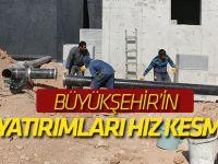 Büyükşehir'in Su Yatırımları Hız Kesmiyor