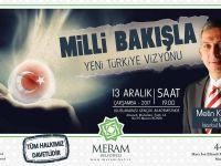 Külünk, 'Yeni Türkiye Vizyonu'nu anlatacak
