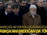 İTO Başkanı Çağlar son yolculuğuna uğurlandı! Cumhurbaşkanı Erdoğan da törende...