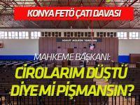Konya'daki FETÖ/PDY çatı davasında 1 tutuklama kararı