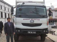 Derbent'e Keçiören Belediyesinden araç desteği