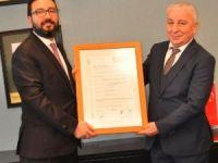 Sevgili Metal Otomotiv Limited Şirketi'ne ödül