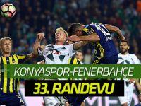 Atiker Konyaspor'la Fenerbahçe 33. randevuya çıkıyor