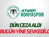 Konyaspor yine PFDK'ya sevkedildi