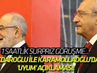Kılıçdaroğlu ile Karamollaoğlu'dan 'uyum' açıklaması!