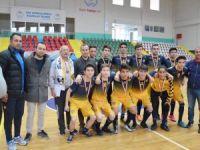 Gençler Futsala Konya Spor Lisesi damgası