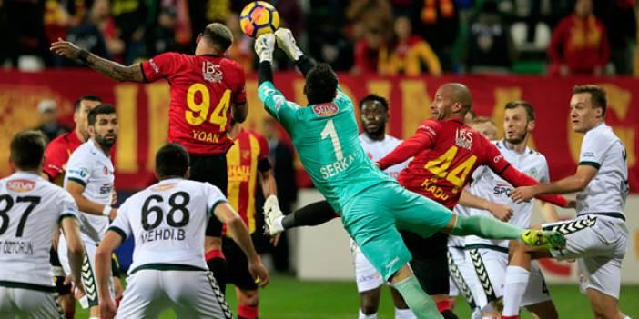Konyaspor Göztepe ile oynayacak