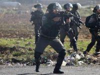İsrail askerleri Batı Şeria'da Filistinlilere müdahale etti