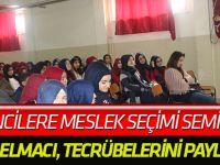 Öğrencilere meslek seçimi semineri
