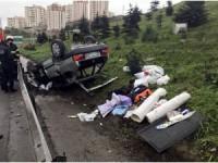 Anadolu Otoyolu'nda trafik kazası: 2 yaralı