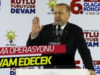 Cumhurbaşkanı Erdoğan'dan 'Afrin operasyonu' mesajı