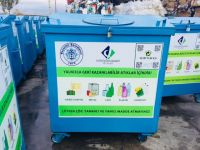 Beyşehir Belediyesi'nden yeni çöp konteyneri, kül kovası dağıtımı