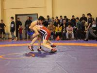 Okullararası güreş il birinciliği yapıldı