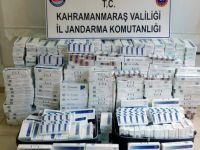 Jandarmadan sigara kaçakçılarına şok baskın