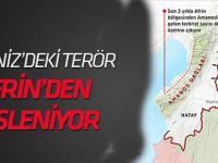 Akdeniz'deki terör Afrin'den besleniyor