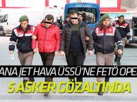 Konya'da FETÖ/PDY operasyonu: 5 asker gözaltına alındı