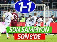 Son şampiyon Konyaspor çeyrek finalde