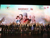"""Cumhurbaşkanı Erdoğan, """"Kut'ül Amare"""" dizisinin tanıtımına katıldı"""