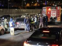 Haliç Köprüsü'nde iki otomobil çarpıştı: 2 yaralı