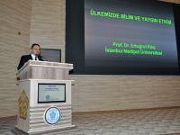 NEÜ'de Türkiye'de Bilim ve Bilimsel Yayın Politikaları Konuşuldu