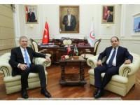 Sağlık Bakanı Demircan'ın kabulü