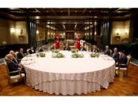 Erdoğan yasama, yürütme ve yargı organlarının temsilcileriyle buluştu
