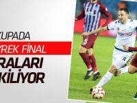 Ziraat Türkiye Kupası'nda son 8'e kalan takımlar belli oldu