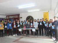 Karapınar'da öğrenciler kitap yazdı