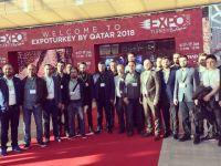 KOMÜT, Katar'da fuara katıldı