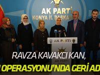 Ravza Kavakcı Kan, Konyalılarla buluştu