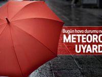 Dikkat! Meteoroloji'den yağmur uyarısı