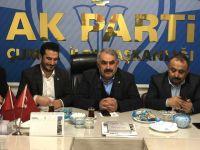 Ak Parti Konya Milletvekili Etyemez Çumra'da