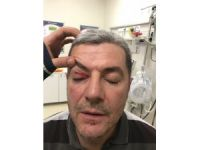 Konyaspor-Trabzonspor maçında protokol tribününde yumruklu kavga