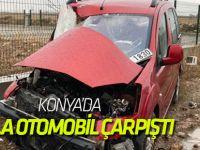 Çumra'da Trafik Kazası: 2 Yaralı