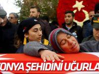 Şehit Uzman Çavuş Ali Taştepe'yi, 3 Bin Kişi Uğurladı