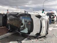 Akşehir'de trafik kazası: 4 yaralı