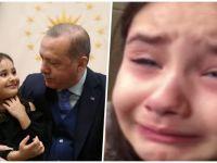Minik Irmak muradına erdi! Hem Erdoğan'ı gördü, hem tarihe geçti...