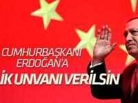 """""""Cumhurbaşkanı Erdoğan'a gazilik unvanı verilsin"""" teklifi TBMM'ye sunuldu"""