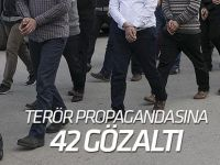 Terör propagandasına 23 gözaltı