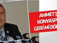 Ahmet Şan Konyaspor'a geri mi dönecek?