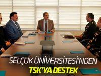 Selçuk Üniversitesi'nden KBRN'ye Destek