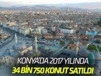 Konya İli Konut Satış İstatistikleri, 2017